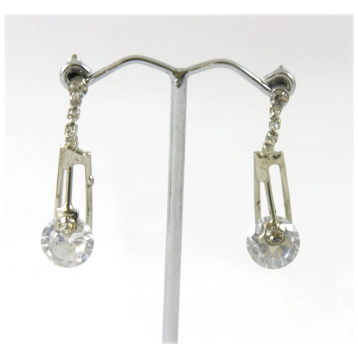 Diamonti Drop Earring