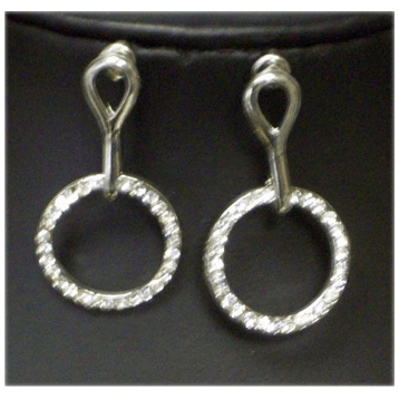 Drop Circle Earring