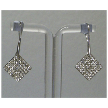 Drop Earring with Square